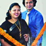 Mamataz with her new married Husband Dr. Chanchal