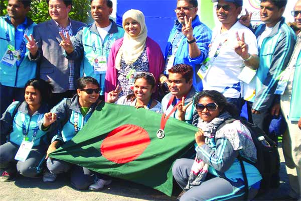 Bangladesh team in Commonwealth games 2014
