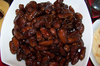 Dates Bangla Khejur as Iftar
