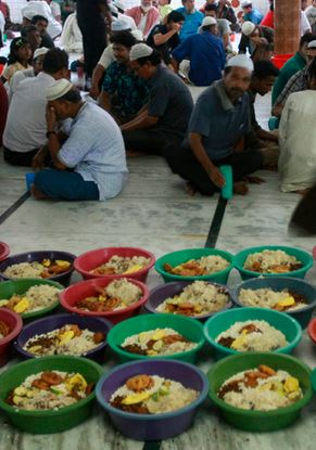 waiting for iftar time in Bangladesh