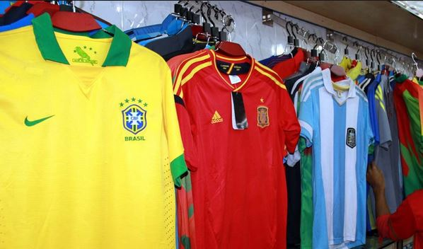 World cup football jersey in Bangladesh