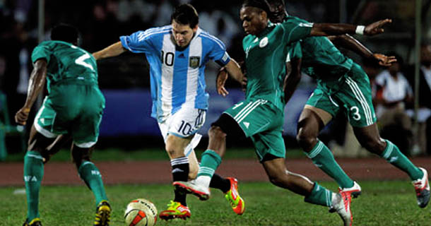 Messi Playing in Bangladesh