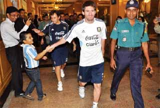 Bangladesh Fans of Messi