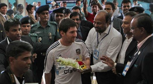 Leolen Messi welcome in Bangladesh