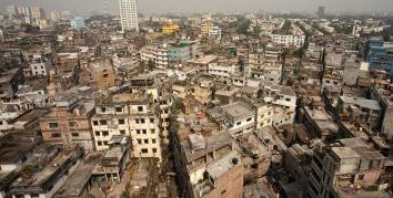 Population problem shelter in Bangladesh