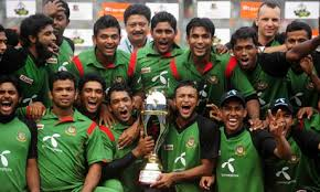 Shakib with Bangladesh Cricket Team