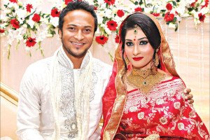 Shakib and Shishir wedding reception in Dhaka