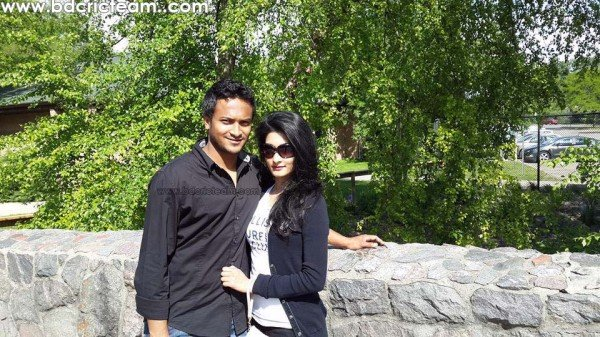 Shakib Al Hasan Honey Moon in USA