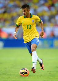 Best player Neymar of Brazil