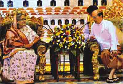 Bangladesh PM resolve Myanmar refugee issue