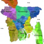 Map of Bangladesh for all divisions cities | Administrative