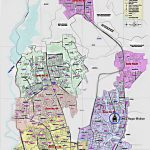 Dhaka City Map  – South and North City Corporation