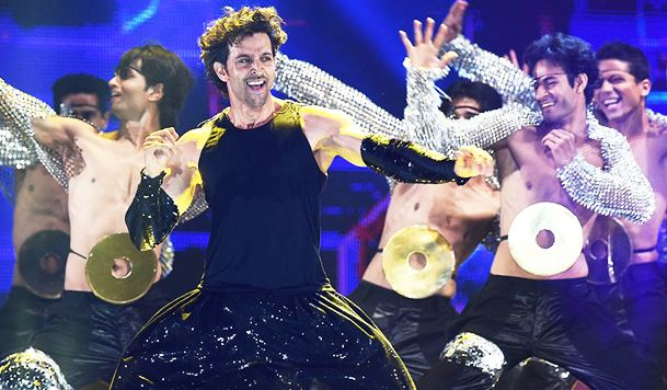 Bollywood actor Hrithik Roshan in BPL