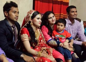 Mahmudullah with-wife