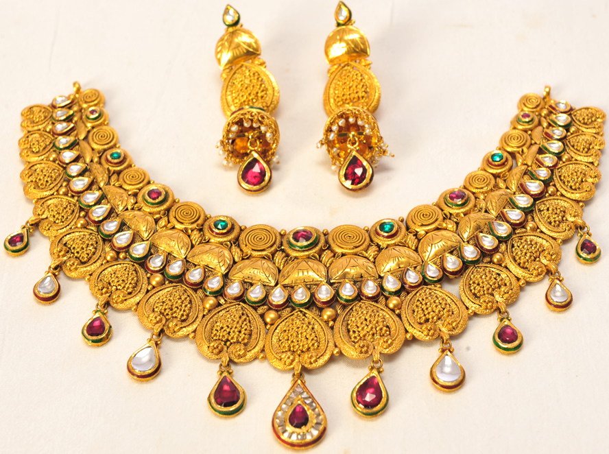 Amin jewellers gold design