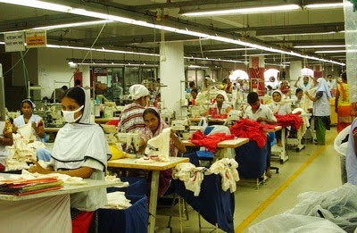 Textile and garments industries in Bangladesh