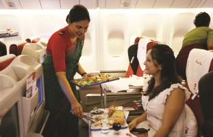 Biman Airlines Air Hostess on-board services