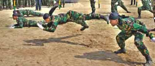 Bangaldesh Military Training