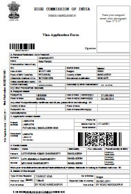 Online Indian Visa Application Form For Bangladesh