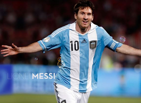 Lionel Messi best player of Argentina