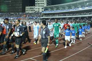 Argentina vs Nigeria in Bangladesh