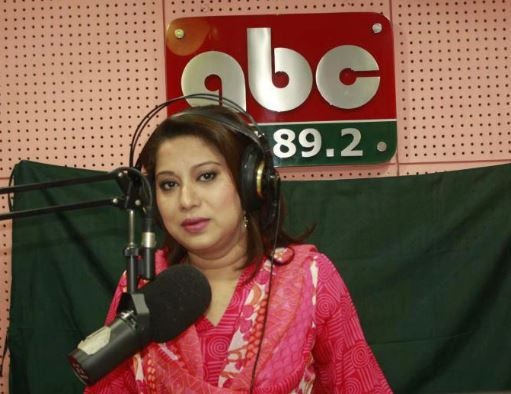 RJ Sharmin ABC Radio Bangladesh
