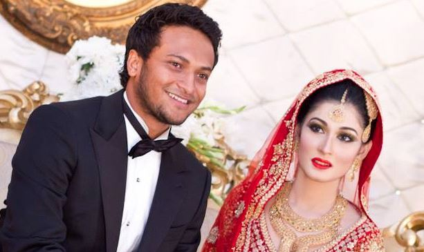 Wedding reception of Shakib and Shishir