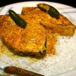 Hilsa in mustard sauce – Shorshe Ilish