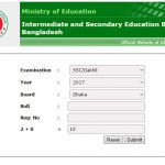 Dhaka Education Board Result – eboard results gov bd for SSC in Bangladesh