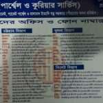 SA Paribahan Office Location and phone number in Bangladesh