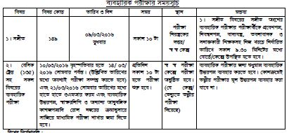 ssc routine 2016 practical